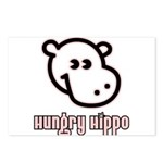 Hungy Hippo Collection Postcards (Package of 8)