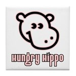Hungy Hippo Collection Tile Coaster