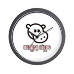 Hungy Hippo Collection Wall Clock