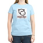 Hungy Hippo Collection Women's Pink T-Shirt