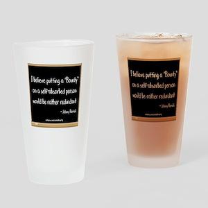 Bounty Drinking Glass