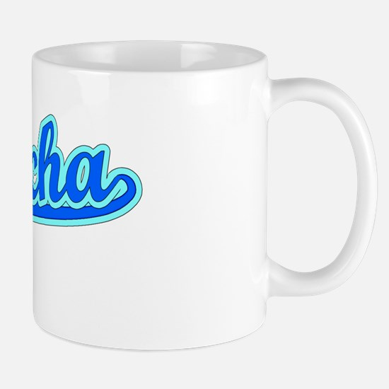 Retro Si Racha (Blue) Mug