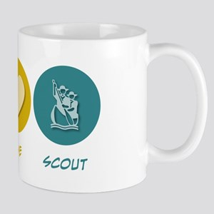 Peace Love Scout Mug