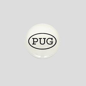 PUG Oval Mini Button