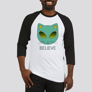 Alien cat Baseball Jersey