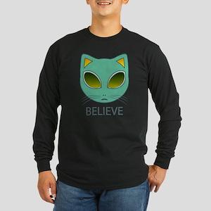 Alien cat Long Sleeve T-Shirt