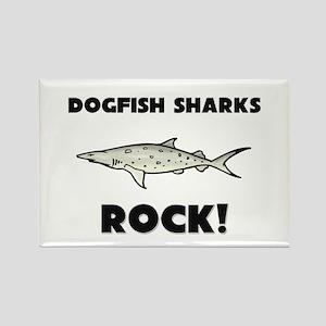 Dogfish Sharks Rock! Rectangle Magnet