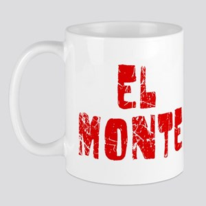 El Monte Faded (Red) Mug