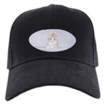 Yellow Tabby Kitten Black Cap with Patch
