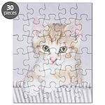 Yellow Tabby Kitten Puzzle