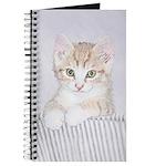 Yellow Tabby Kitten Journal