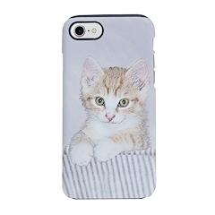 Yellow Tabby Kitten iPhone 8/7 Tough Case