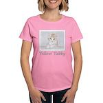 Yellow Tabby Kitten Women's Classic T-Shirt