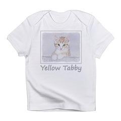 Yellow Tabby Kitten Infant T-Shirt