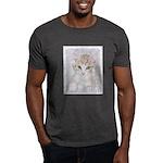 Yellow Tabby Kitten Dark T-Shirt