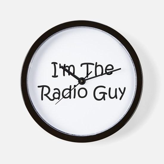 I'm The Radio Guy Wall Clock