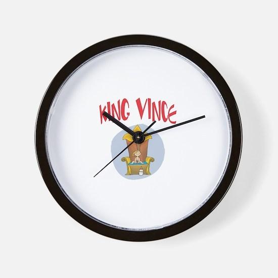 King Vince Wall Clock
