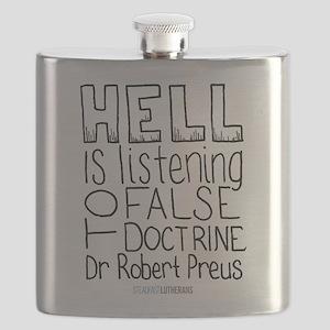 Robert Preus Quote Flask
