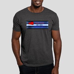 UR COCK_MY ASS..LEATHER FLAG BAR Dark T-Shirt
