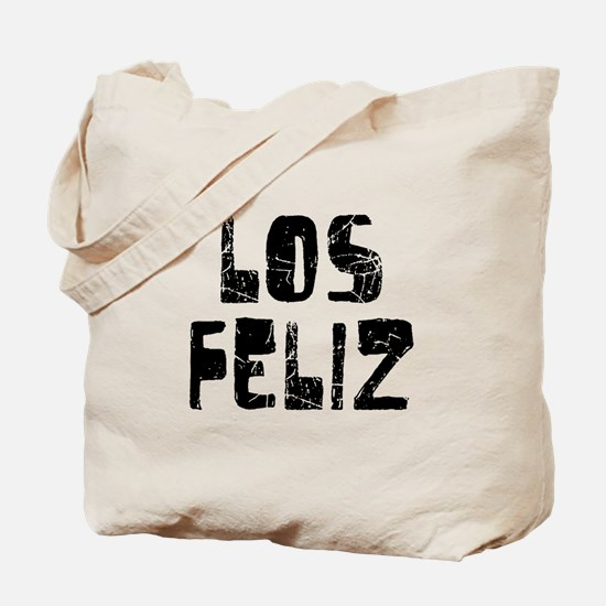 Los Feliz Faded (Black) Tote Bag