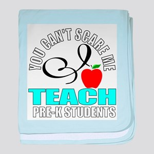 Pre-k teacher baby blanket