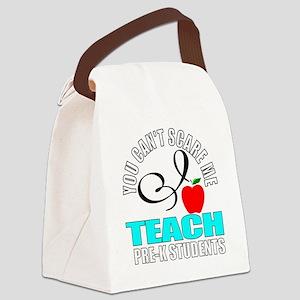 Pre-k teacher Canvas Lunch Bag