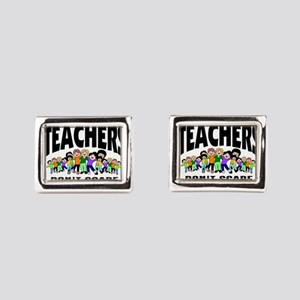 Teacher Rectangular Cufflinks