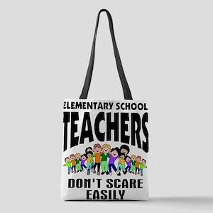 Teacher Polyester Tote Bag