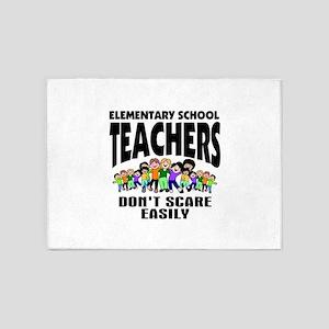 Teacher 5'x7'Area Rug