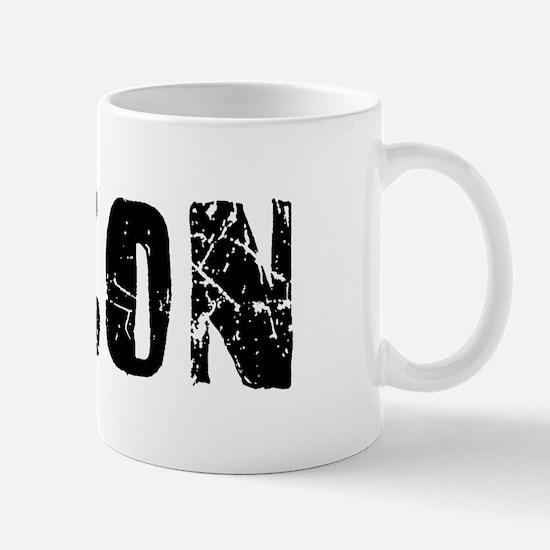 Macon Faded (Black) Mug