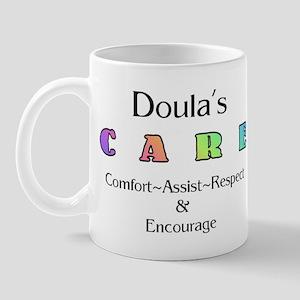 DoulasCareLgColor Mugs