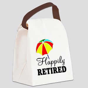 Retiring teacher Canvas Lunch Bag