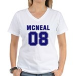 Mcneal 08 Women's V-Neck T-Shirt