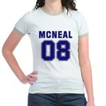 Mcneal 08 Jr. Ringer T-Shirt