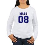 Mabe 08 Women's Long Sleeve T-Shirt