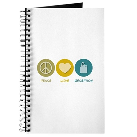 Peace Love Reception Journal