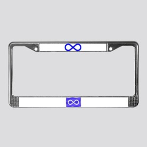 Metis Nation Flag License Plate Frame