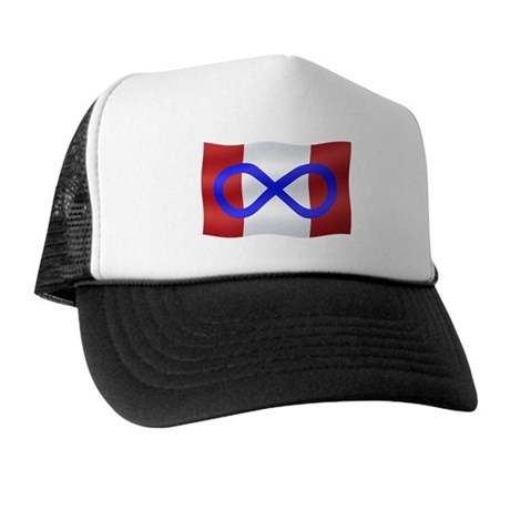 Metis Nation Flag Trucker Hat