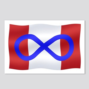 Metis Nation Flag Postcards (Package of 8)