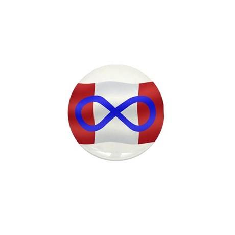 Metis Nation Mini Button 10 pack Canada Pin