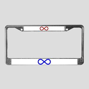 Metis Nation Flag License Plate Frame