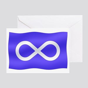 Metis Nation Flag Greeting Card