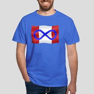 Metis Nation Flag Dark T-Shirt