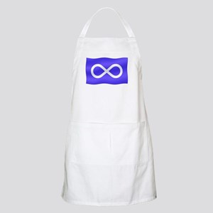 Metis Nation Flag Light Apron