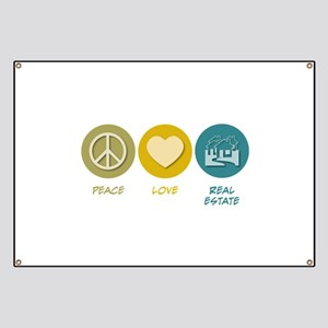 Peace Love Real Estate Banner