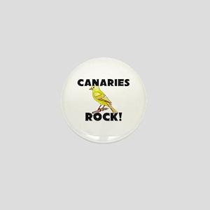 Canaries Rock! Mini Button