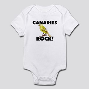 Canaries Rock! Infant Bodysuit