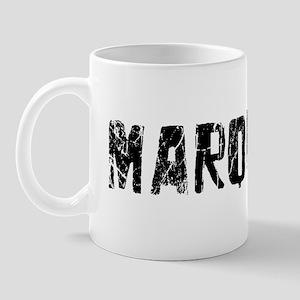 Marquette Faded (Black) Mug