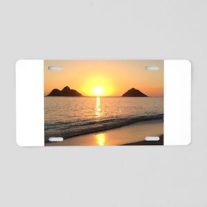 Sunrise Lanikai Aluminum License Plate