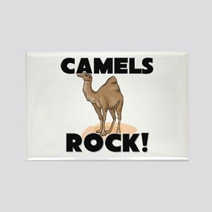 Camels Rock! Rectangle Magnet